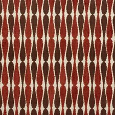 Beige/Rust Contemporary Drapery and Upholstery Fabric by Groundworks