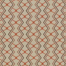 Terra Cotta Drapery and Upholstery Fabric by Kasmir