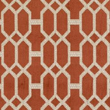 Cayenne Diamond Drapery and Upholstery Fabric by Duralee