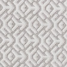 Vanilla Geometric Drapery and Upholstery Fabric by Duralee