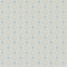 Natural/Aqua Chenille Drapery and Upholstery Fabric by Duralee