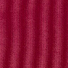 Red Corduroy Drapery and Upholstery Fabric by Duralee