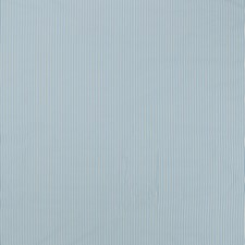 Aqua Stripe Drapery and Upholstery Fabric by Duralee