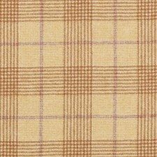 Mustard Plaid Drapery and Upholstery Fabric by Duralee