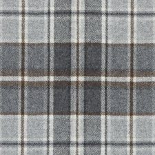 Charcoal Plaid Drapery and Upholstery Fabric by Duralee