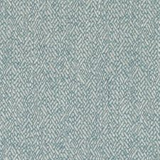 Teal Herringbone Drapery and Upholstery Fabric by Duralee