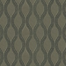 Brown Scroll Drapery and Upholstery Fabric by JF