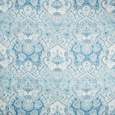 Sapphire Paisley Drapery and Upholstery Fabric by Kravet