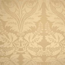 Flax Damask Drapery and Upholstery Fabric by Threads