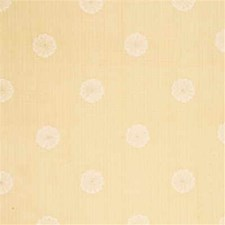 Cream Embroidery Drapery and Upholstery Fabric by Threads