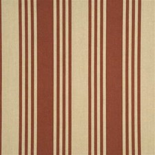 Tomato Stripes Drapery and Upholstery Fabric by Threads