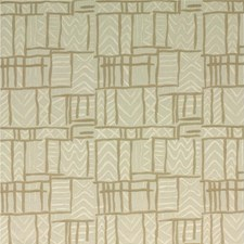 Ivory Embroidery Drapery and Upholstery Fabric by Threads