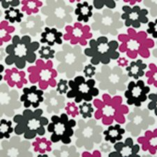 Fuchsia Abstract Drapery and Upholstery Fabric by Clarke & Clarke