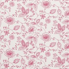 Rose Floral Vine Drapery and Upholstery Fabric by Clarke & Clarke