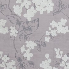 Heather Floral Vine Drapery and Upholstery Fabric by Clarke & Clarke