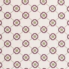 Orchid Diamond Drapery and Upholstery Fabric by Clarke & Clarke