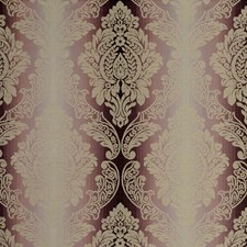 Orchid Damask Drapery and Upholstery Fabric by Clarke & Clarke