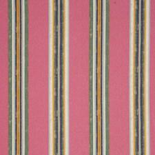 Azalea Stripes Drapery and Upholstery Fabric by Clarke & Clarke