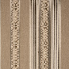 Jute Ethnic Drapery and Upholstery Fabric by Clarke & Clarke