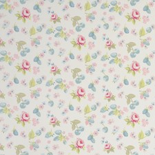 Fruits Mineral Drapery and Upholstery Fabric by Clarke & Clarke