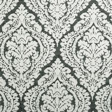Black/White Weave Drapery and Upholstery Fabric by Clarke & Clarke