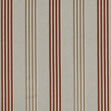 Spice Stripes Drapery and Upholstery Fabric by Clarke & Clarke