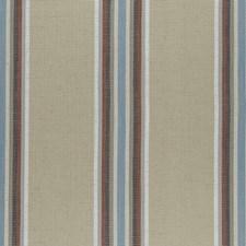 Cinnabar/Aqua Weave Drapery and Upholstery Fabric by Clarke & Clarke