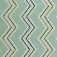 Aqua/Citron Weave Drapery and Upholstery Fabric by Clarke & Clarke