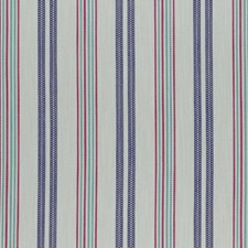 Indigo/Raspberry Weave Drapery and Upholstery Fabric by Clarke & Clarke