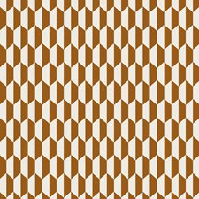 Drk Gingr Crm Geometric Drapery and Upholstery Fabric by Cole & Son