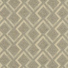Dove Diamond Drapery and Upholstery Fabric by Clarke & Clarke