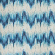 Indigo/Teal Drapery and Upholstery Fabric by Clarke & Clarke