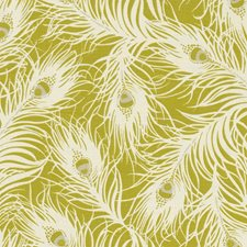 Chartreuse Drapery and Upholstery Fabric by Clarke & Clarke