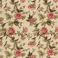 Green/Pink Weave Drapery and Upholstery Fabric by Mulberry Home