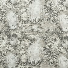 Stone/Silver Print Drapery and Upholstery Fabric by Mulberry Home