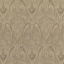 Mineral Paisley Drapery and Upholstery Fabric by Mulberry Home