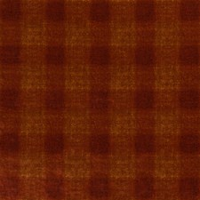 Spice Check Drapery and Upholstery Fabric by Mulberry Home