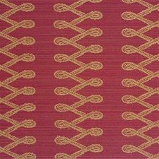 Red Drapery and Upholstery Fabric by Mulberry Home