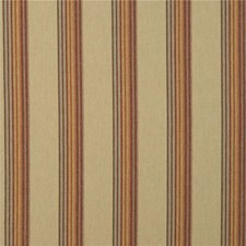 Sand/Rose Stripes Drapery and Upholstery Fabric by Mulberry Home