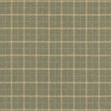 Lovat Plaid Drapery and Upholstery Fabric by Mulberry Home