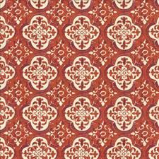 Burnt Orange Drapery and Upholstery Fabric by Kasmir