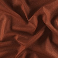 Rust/Terracotta Plain Drapery and Upholstery Fabric by JF