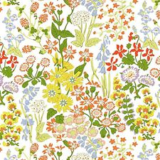 Springtime Drapery and Upholstery Fabric by Scalamandre