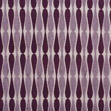 Taupe/Grape Modern Drapery and Upholstery Fabric by Groundworks