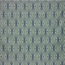 Jade/Teal Print Drapery and Upholstery Fabric by Groundworks