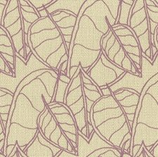 Lilac Botanical Drapery and Upholstery Fabric by Groundworks