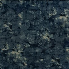 Indigo/Slate Contemporary Drapery and Upholstery Fabric by Groundworks