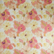 Tawny Rose Print Drapery and Upholstery Fabric by Groundworks