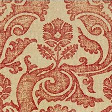 Oxblood Damask Drapery and Upholstery Fabric by Groundworks
