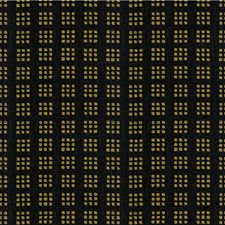 Black/Gold Contemporary Drapery and Upholstery Fabric by Groundworks